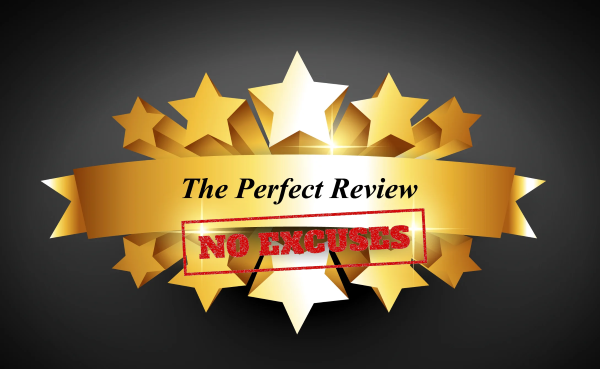 no excuses perfect review techniques