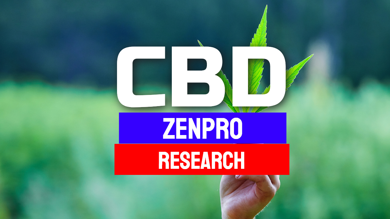 CBD Zenpro Oil Research