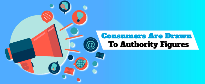 consumers are drawn to authority