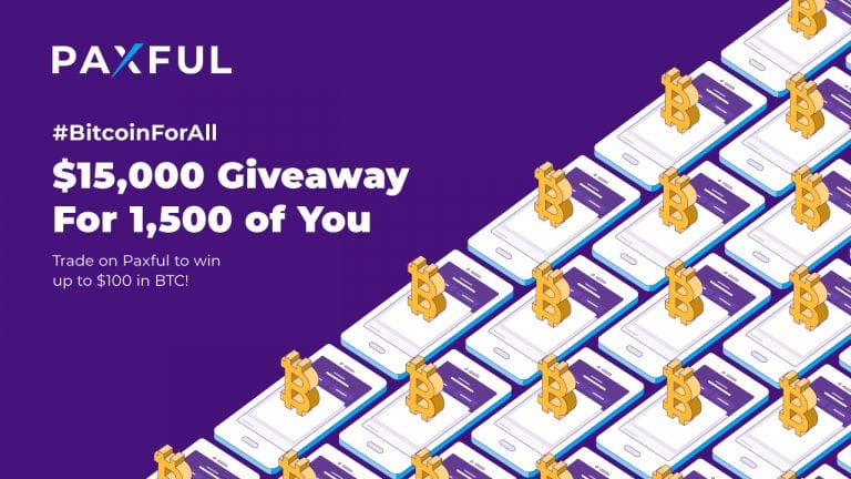 Paxful Celebrates the Five Reasons People Use Bitcoin Everyday With #BitcoinForAll Giveaway