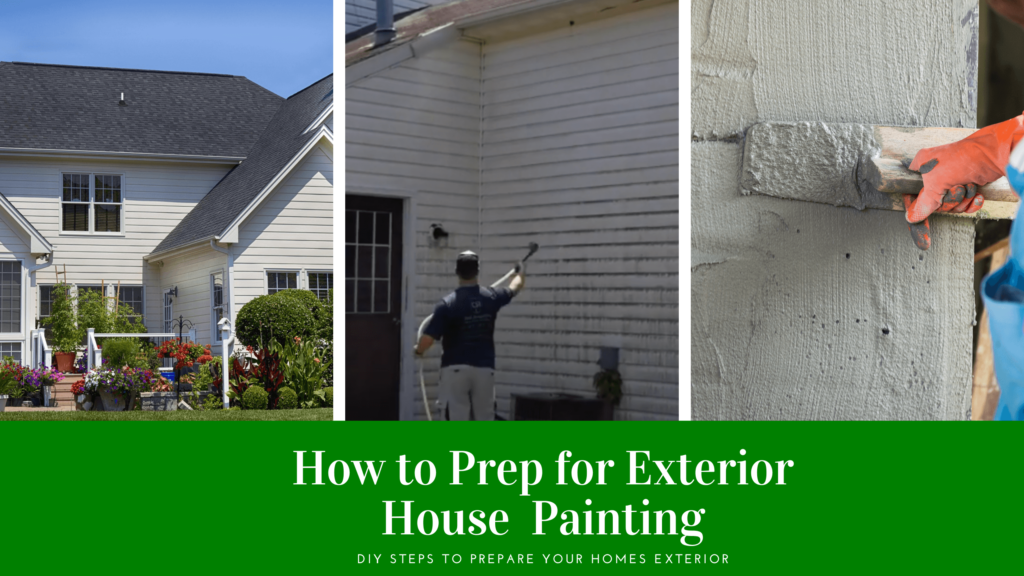 Why Exterior House Paint Prep is Important