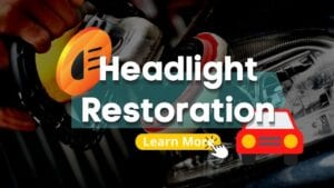 headlight restoration done